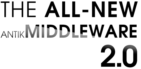 The all new antik middleware 2015