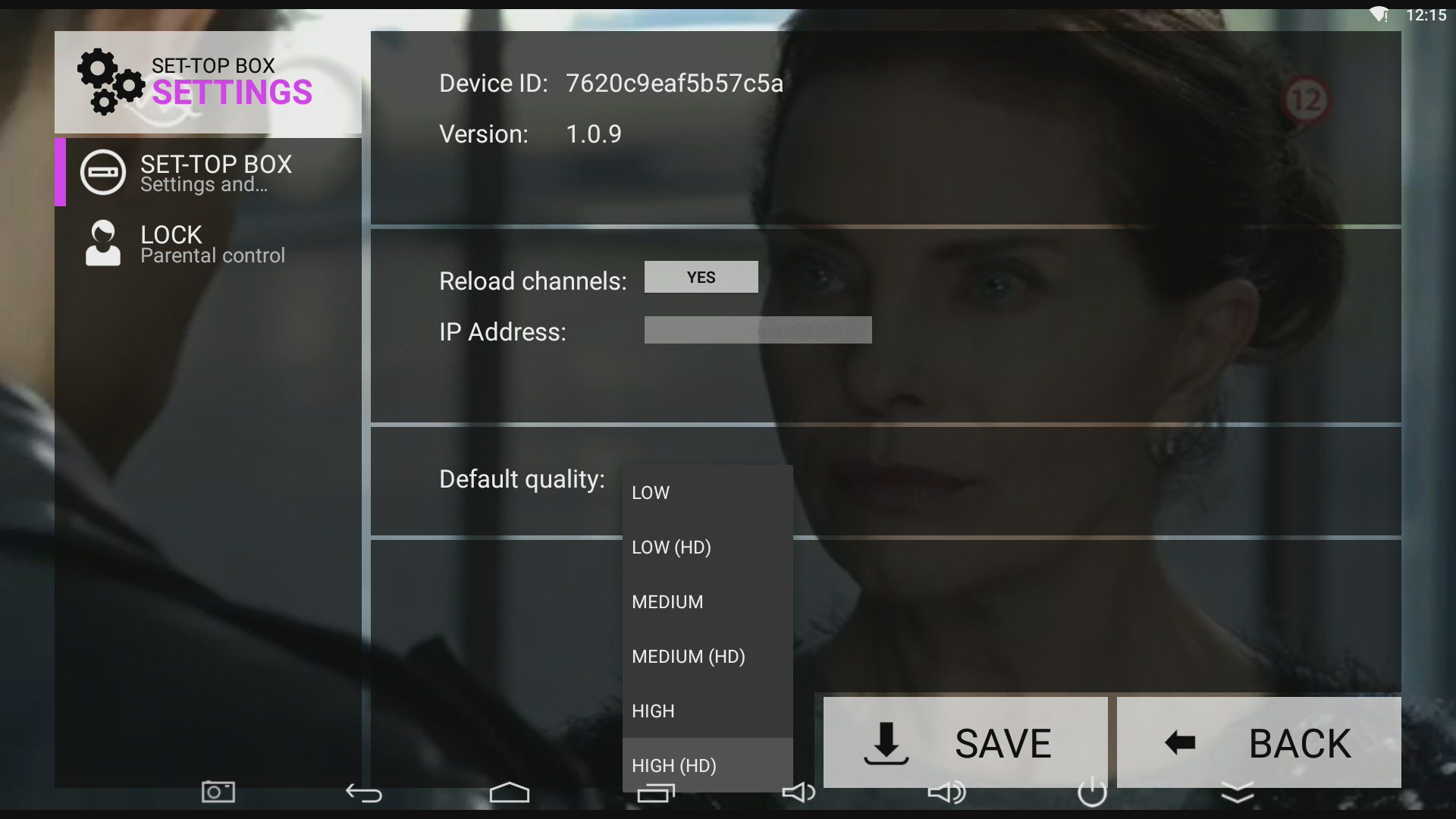 IPTV STBs MOBILE APPs > Mobile devices / APPs > Android TV
