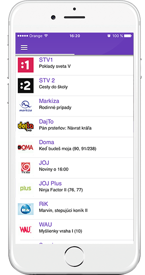 IPTV STBs MOBILE APPs > Mobile devices / APPs > IPTV on Mobile